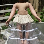 Petticoat for 50's Long Vintage Doll Dress