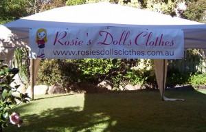 Rosies Dolls Clothes Market Banner