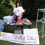 Rosies Dolls Clothes Market Setup