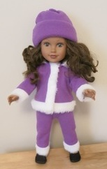 Funky Fur and Beanie doll clothes patterns Marilynn