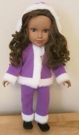 Funky Fur doll clothes pattern Marilynn