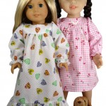 American Girl Nightgown Pattern | How To Make A Doll Nightgown | Rosies DCP