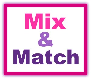 Mix and Match 5 or More Patterns and Save