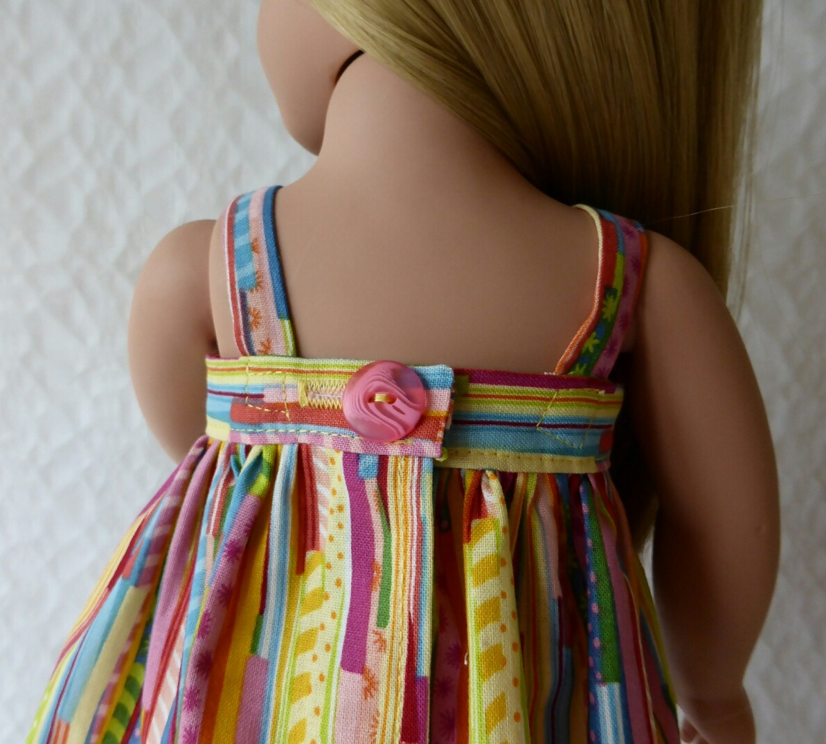 Katy Handkerchief Top Back