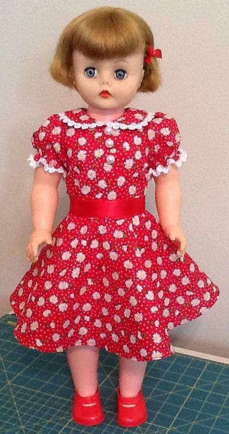 Teri 50s Vintage Dress pattern