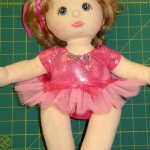Ballerina doll clothes pattern