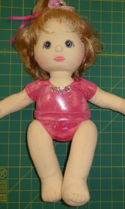 Ballerina Leotard doll clothes pattern