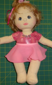 Ballerina Skirt doll clothes pattern