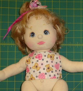 Crop Top Doll Clothes Pattern