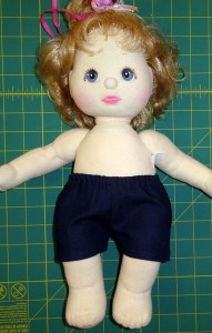 Sport Shorts Doll Clothes Pattern