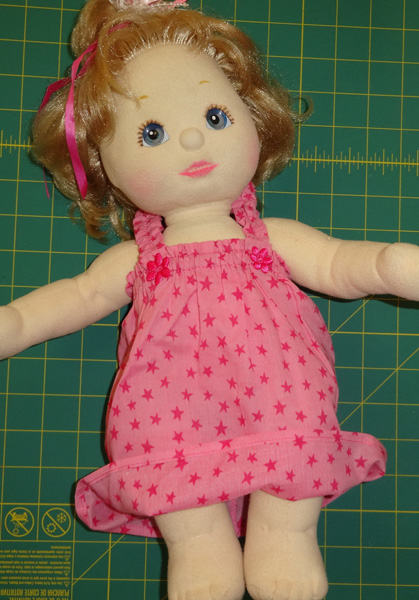 Summer Nightie doll clothes pattern
