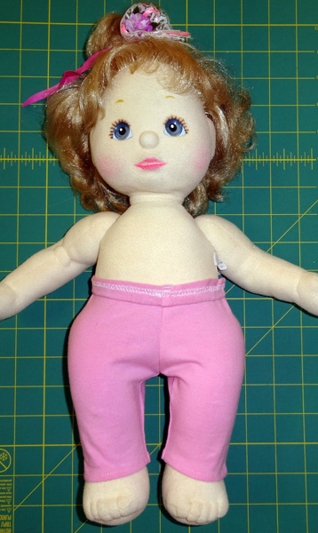 Tights doll clothes pattern