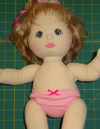 Underpants Front Doll Clothes Pattern