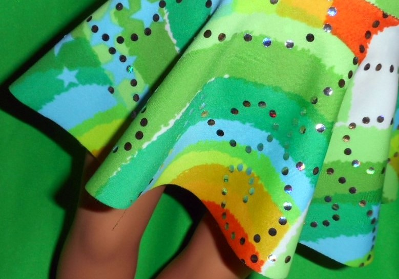 mary-jane circle skirt from ballerina pattern