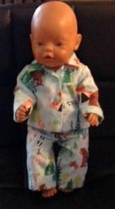 winter pyjamas baby born patricia kilmister