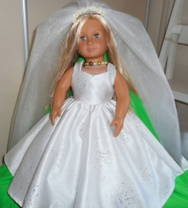 American Girl Wedding Dress pattern Mary-Jane