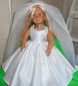 American Girl Wedding Dress pattern Mary-Jane