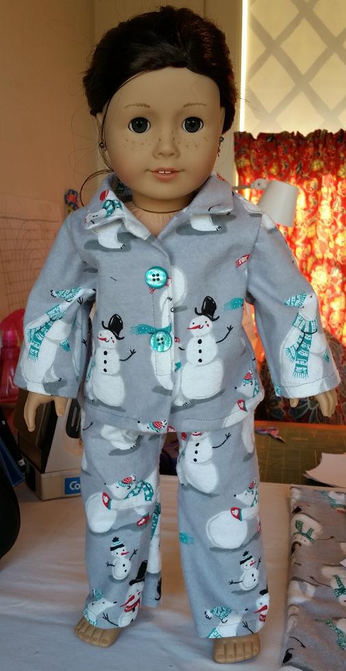 Kimberly Jackson American Girl Winter Pyjanas