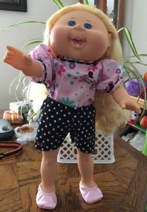 Lisa Braegger Cabbage Patch blouse and shorts pattern