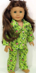 Ann Mellor Winter Pyjama Pattern