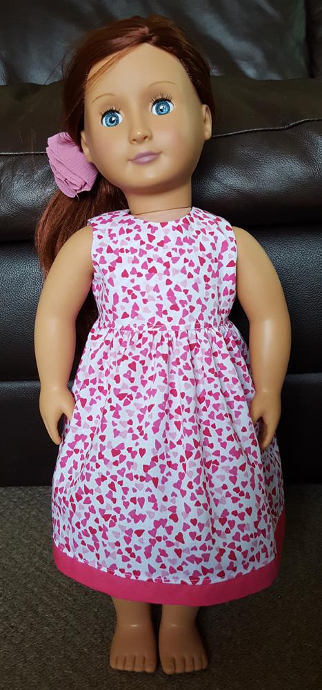 Clare Drewell summer dress pattern