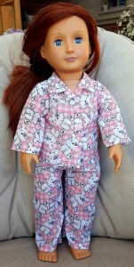 Clare Drewell winter pyjamas pattern