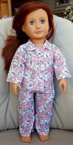 Clare Drewell winter pyjamas pattern