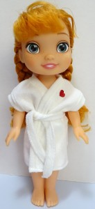 Dressing gown pattern Disney Toddler Doll
