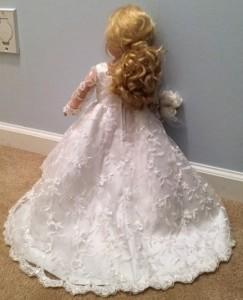 Nancy Logan Wedding Dress pattern back