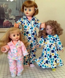 Teri Verhoeven winter night dolls clothes