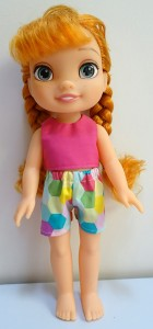 crop top and short pattern Disney Toddler Doll