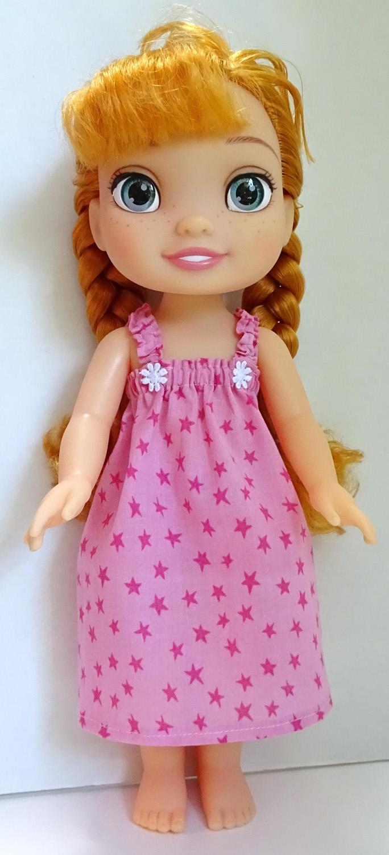 summer nightie pattern Disney Toddler Doll