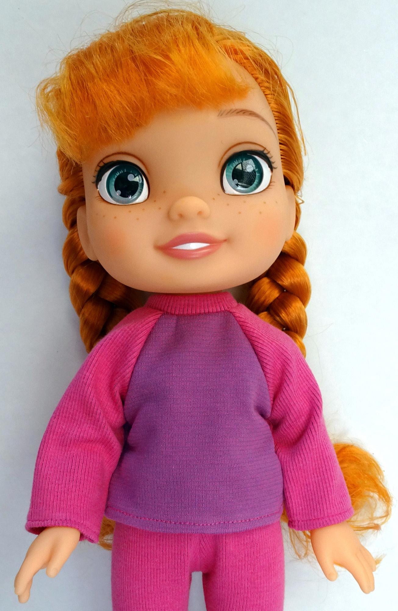 t-shirt pattern Disney Toddler Doll