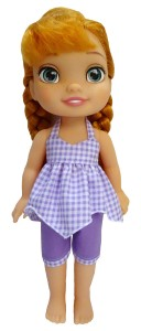Handkerchief Top and capri pants patterns Disney Toddler Doll