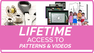 Lifetime video access to my patterns