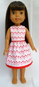Summer Dress pattern Wellie Wishers Doll