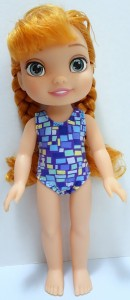 one piece swimsuit resized pattern Disney Toddler Doll
