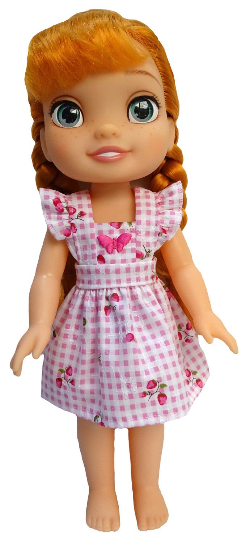 pinafore dress patterns Disney Toddler Doll