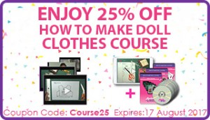 How to Make Doll Clothes Course Banner Rosies Dolls Clothes Patterns Mobile