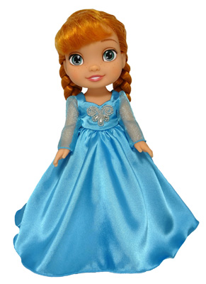 Disney Toddler Doll Ball Gown Pattern