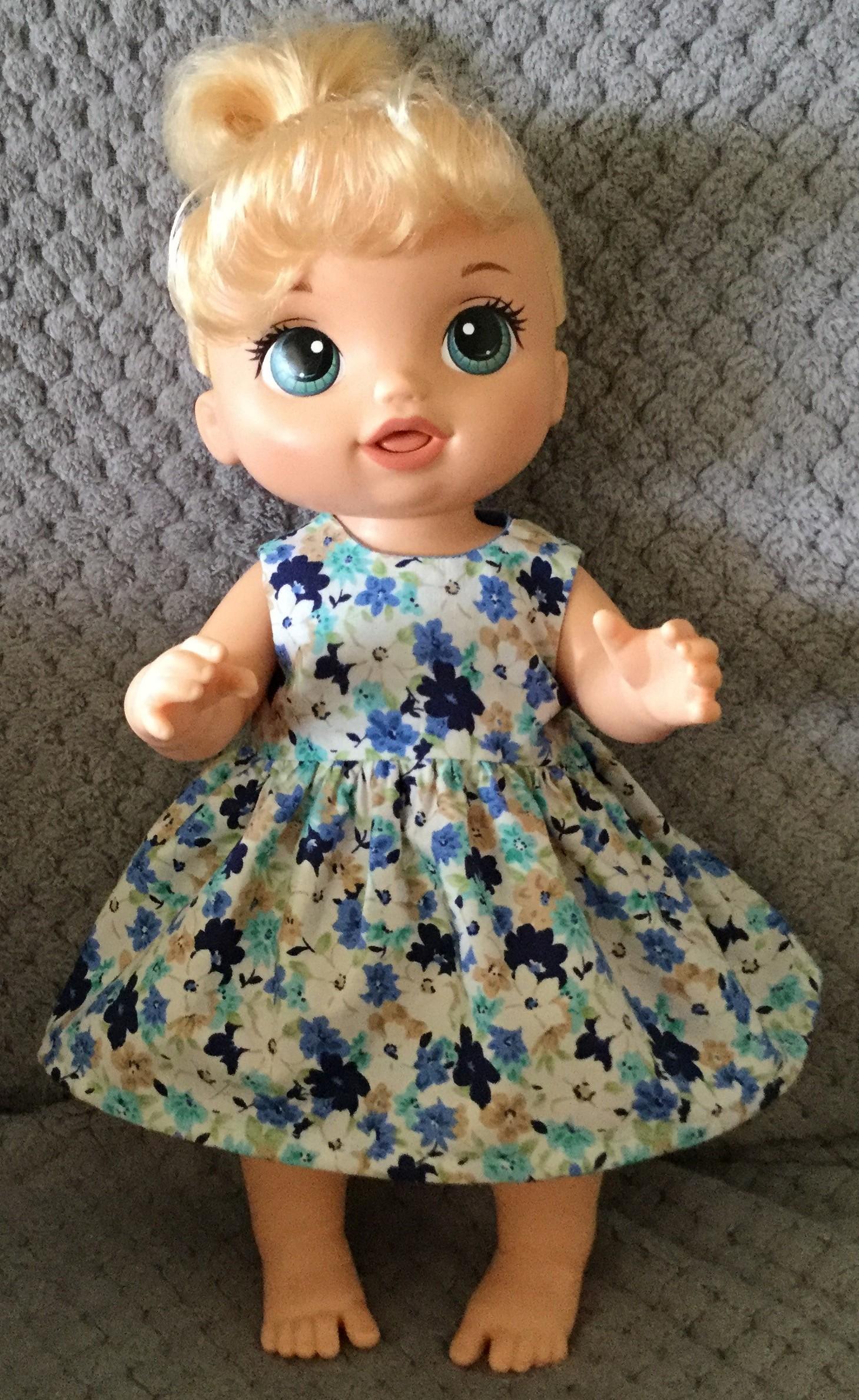 Resized summer dress pattern helen mckee