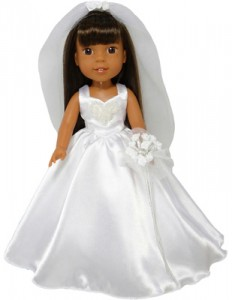 Wellie Wishers Doll Wedding Dress Pattern