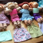 carol workman cabbage patch doll clothes