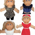 Cabbage Patch Kids Fun and Frilly Top doll clothes pattern