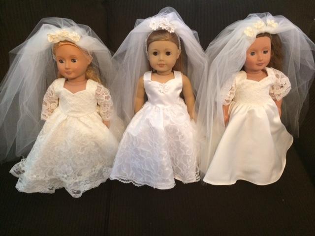 Dolls In Wedding Dresses Lynda Taylor