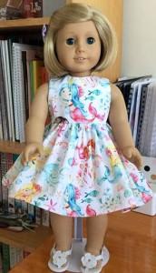 Helen McKee American Girl summer dress