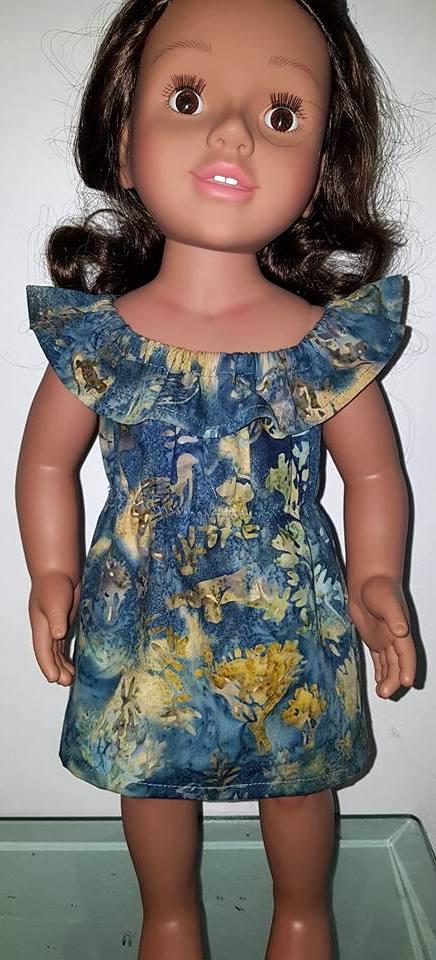 Jane fun n frilly dress pattern