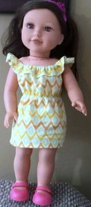 Peggy fun n frilly dress pattern