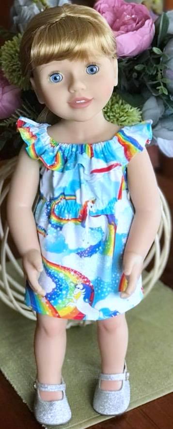 karen thomas fun n frilly unicorn dress pattern