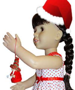 18 Inch American Girl Christmas Dress Rosies Doll Clothes Patterns